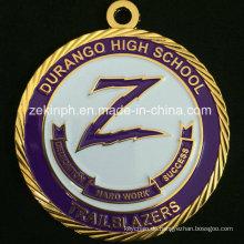 Benutzerdefinierte Goldmedaille für Schulwettbewerb