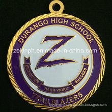 Custom Gold Medal for School Competition