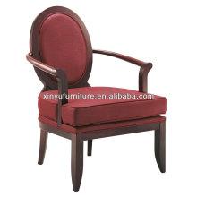 round back restaurant arm chair XY4611