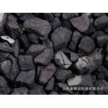 4x8 carvão activado em briquetes para água Purificação iodo 1150 mg / g