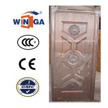 Türkei Beliebte Außen-Sicherheit Metall Kupfer Tür (W-ST-07)