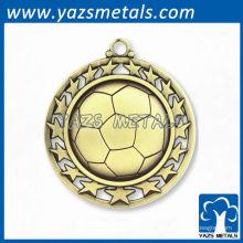 Medallas de fútbol de fútbol personalizado