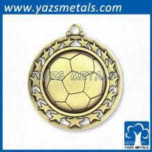 Custom sport soccer football medals