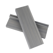 Solid Grooved Durable Waterproof Anti-Slip Fire-Retardant Termite-Free WPC Decking Staire Board