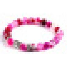 Мода кристалл агат бисером браслет ювелирные изделия (ESB012004)
