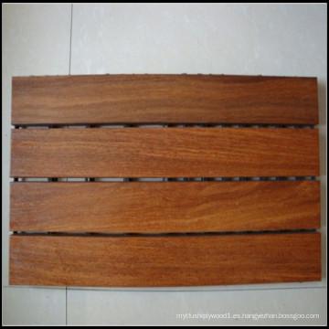 Azulejos de madera para exteriores Cumaru