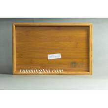 bamboo tray with logo