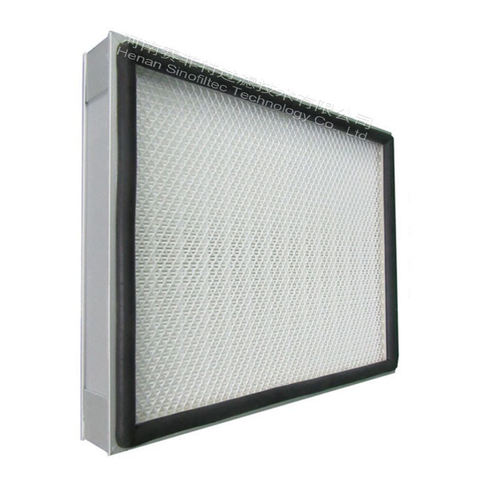 Air-filter-mini-pleated-hepa-panel-filter