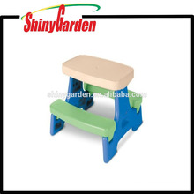 Outdoor Children Chair and Table with Umbrella Hole