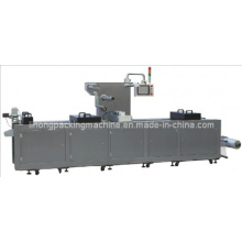 Máquina termoformadora para embalagem a vácuo de presunto de pato fatiado