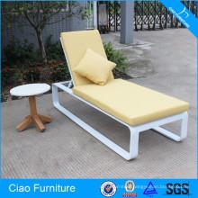 Aluminum Sun Lounger With Cushion