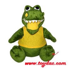 Plüsch Cartoon Tier Spielzeug Krokodil