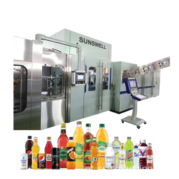 Linha Turnkey de Blowing Filling Capping