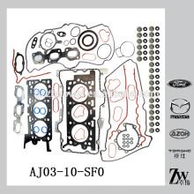 Junta de alta qualidade do motor superior ajustada para Mazda Tribute MPV For-d Escape AJ03-10-SF0
