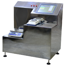 Semi automatic powder weighing system