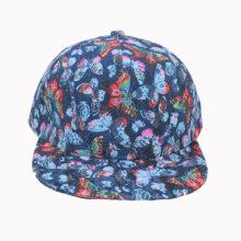 Fashion Blue Lace Snapback Cap (GKA15-F00045)