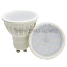 El plástico más barato 3W / 5W GU10 2835SMD LED Spot la lámpara
