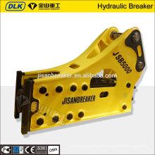 El CE aprobó el tipo lateral SB151 Rompedor hidráulico de Soosan para el excavador PC450