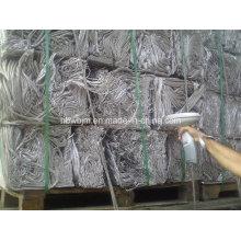 Провод алюминиевого скрапа 99,7% Мин.