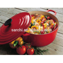 Enamel iron casserole for morden kitchen