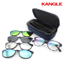 2017 TR90 clip opitcal eyeglass frames in stock wholesale Polarized lens sunglasses