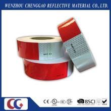 DOT-C2 Branco e Vermelho Segurança PVC Fitas Refletivas para Caminhão