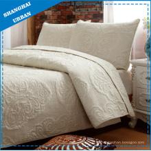 Edredón de colcha de ropa de cama 100% algodón (juego)