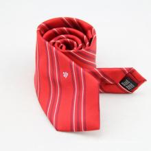 Corbata barata de la raya de la corbata del negocio de los hombres para el hombre