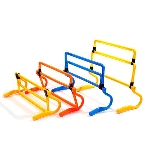 Adjustable Removable Speed exercise Barrier Field Obstacles Soccer Training Agility Hurdles