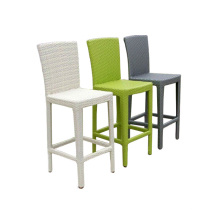 Rattan high bar stools
