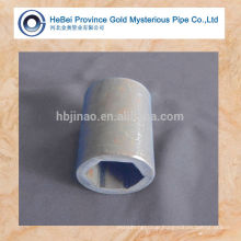 hexagonal seamless tubes