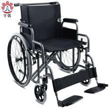 Бариатрическая инвалидная коляска из нержавеющей стали для тяжелых условий эксплуатации