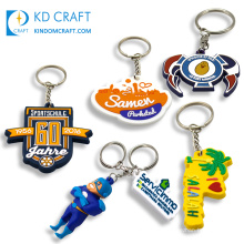 Chinese supplier custom classic style soft pvc philippines coconut palm souvenir keychain for sale