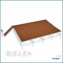 botte d'étape de toit de botte circulaire durable