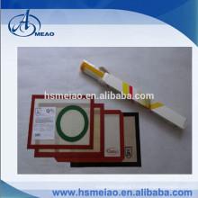 Food grade Custom wholesale fiberglass non stick silicone baking mat