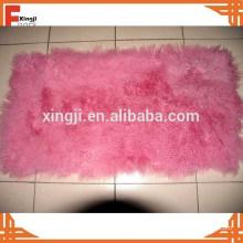Peine tibetano rizado del cordero de la placa de la piel del proveedor de China
