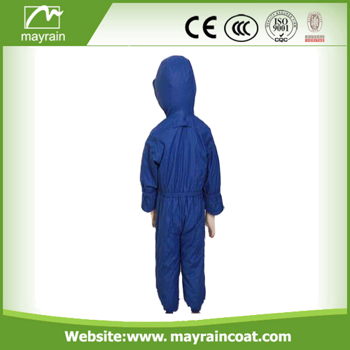 PU Dark Blue Rainsuits