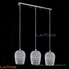 Moderne 3 lumières led suspendus lustre chandelier 71114