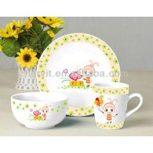 Ceramic Giftware Kids Breakfast Sets