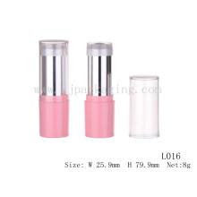 Rosa Schlauch kosmetische Probe Großhandel leere Fundament Stick kosmetischen Kunststoff-Rohr