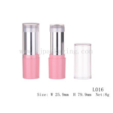 pink tube cosmetic sample wholesale empty foundation stick cosmetic plastic tube