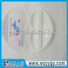 Boîte de pillule en plastique de forme coeur personnalisé, oem d'impression boîte à pilules