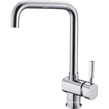 Sanitary Ware Chrome Plated Kitchen Faucet (1187)