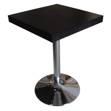 Black Dining Table for Canteen and Hotel Furniture
