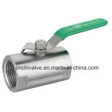 Válvula de esfera com material de aço inoxidável