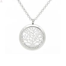 Серебро дерево жизни стекло кулон ароматерапия,аромат духов кулон ювелирные изделия