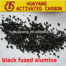 85% Al2O3 black fused alumina (BFA) abrasive for metal surface treatment