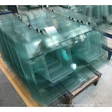 5mm 6mm 10mm 12mm Thick Toughened Glass Price with Polished Edge for Terrace Sliding Doors