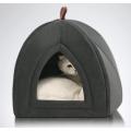 Mikrofaser Indoor Outdoor Haustierzelt Höhlenbett