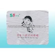 Чистящая салфетка из микрофибры с шелкографией
